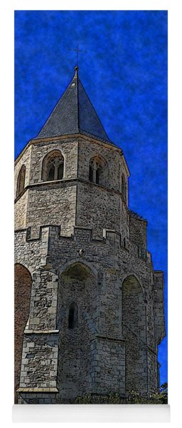 Medieval Bell Tower 2 Yoga Mat