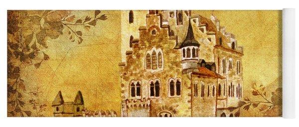 Medieval Golden Castle Yoga Mat
