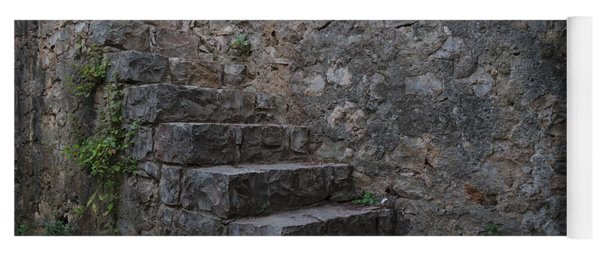 Medieval Wall Staircase Yoga Mat