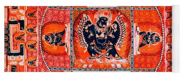 Meditation Yoga Mandala Yuan Dynasty Yoga Mat