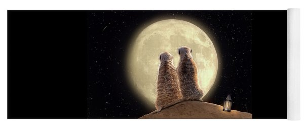 Meerkat Moon Yoga Mat