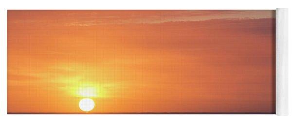 Meeting The Horizon Yoga Mat