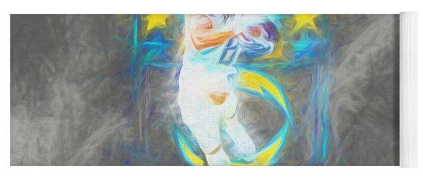Melvin Gordon La Chargers 4 Football Yoga Mat