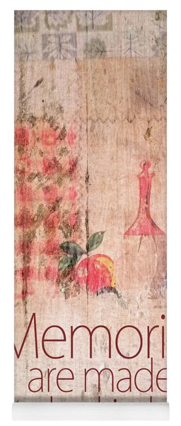 Memories Are Made In The Kitchen Yoga Mat