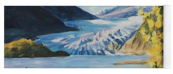 Mendenhall Glacier Juneau Alaska Yoga Mat