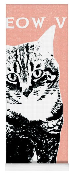 Meow Vey- Art By Linda Woods Yoga Mat