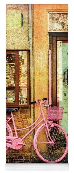 Mercante Tedora Bicycle Yoga Mat
