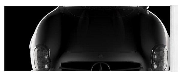 Mercedes 300 Sl Roadster - Front View Yoga Mat
