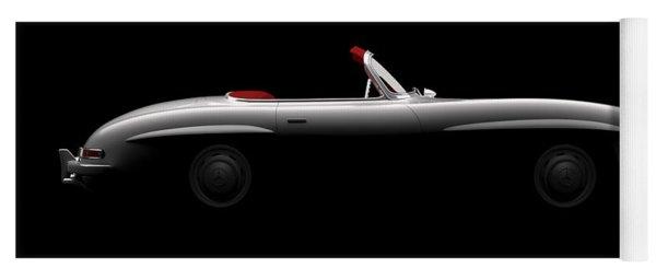 Mercedes 300 Sl Roadster - Side View Yoga Mat