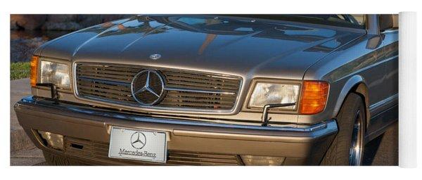 Mercedes 560sec W126 Yoga Mat