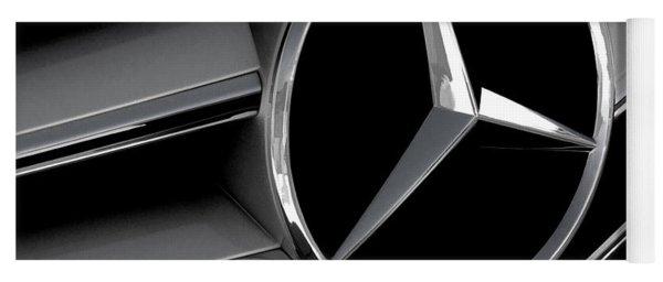 Mercedes Badge Yoga Mat