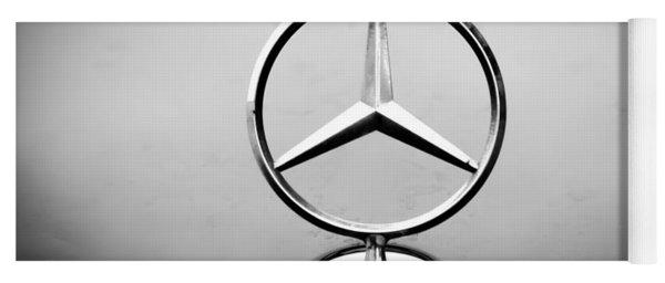 Mercedes Benz Logo Yoga Mat