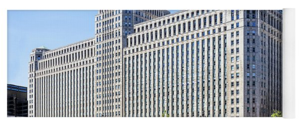 Merchandise Mart Overlooking The L Yoga Mat