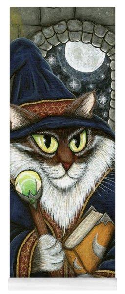 Merlin The Magician Cat Yoga Mat