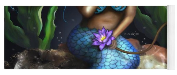 Yemaya Mermaid  Yoga Mat