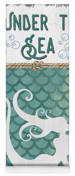 Mermaid Waves 2 Yoga Mat