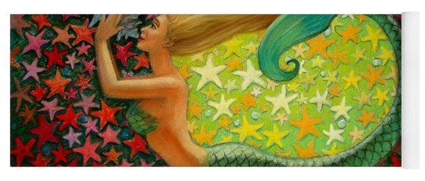Mermaid's Circle Yoga Mat