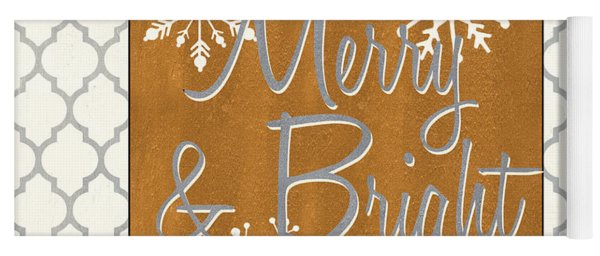 Merry And Bright Yoga Mat
