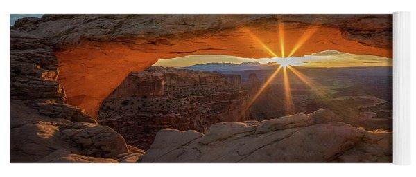 Mesa Arch Sunrise Yoga Mat
