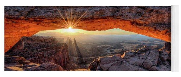 Mesa Arch Sunburst By Olena Art Yoga Mat