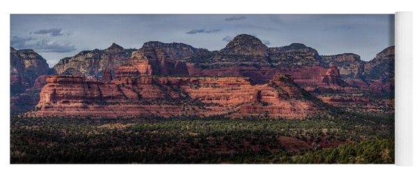 Mescal Mountain Panorama Yoga Mat