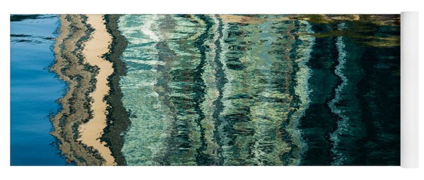 Mesmerizing Abstract Reflections Two Yoga Mat