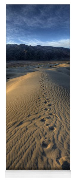 Mesquite Flats Footsteps Yoga Mat