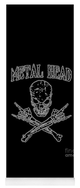 Metal Head Yoga Mat