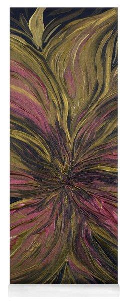 Metallic Flower Yoga Mat