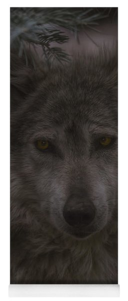 Mexican Grey Wolf Yoga Mat