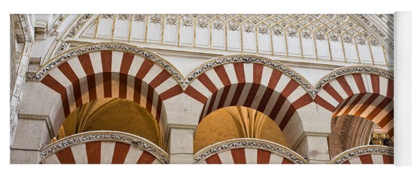 Mezquita Cathedral Architectural Details Yoga Mat