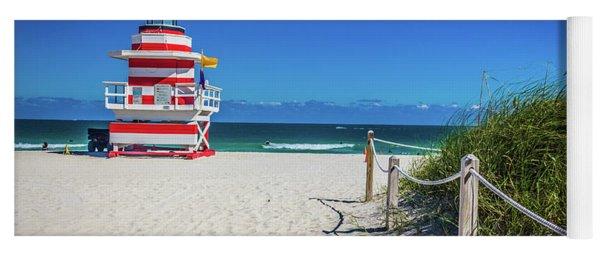 Miami Beach Lifeguard 4467 Yoga Mat