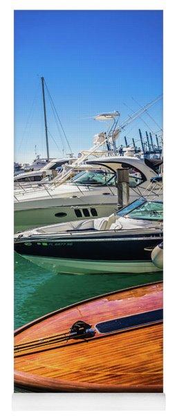 Miami Beach Marina 4507 Yoga Mat