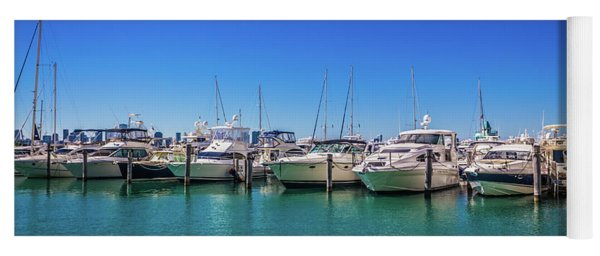 Miami Beach Marina 4515 Yoga Mat