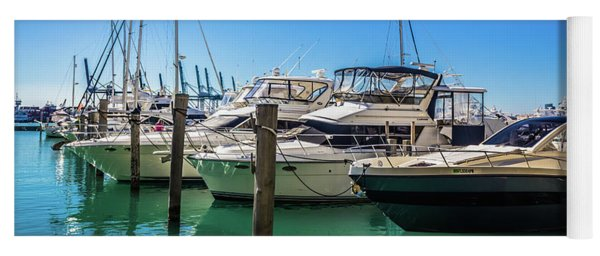 Miami Beach Marina 4523 Yoga Mat