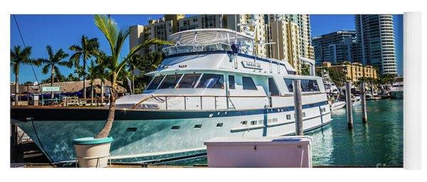 Miami Beach Marina 4552 Yoga Mat