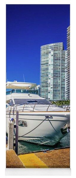Miami Beach Marina 4578 Yoga Mat