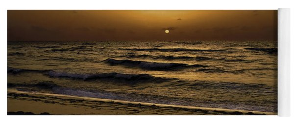 Miami Sunrise Yoga Mat