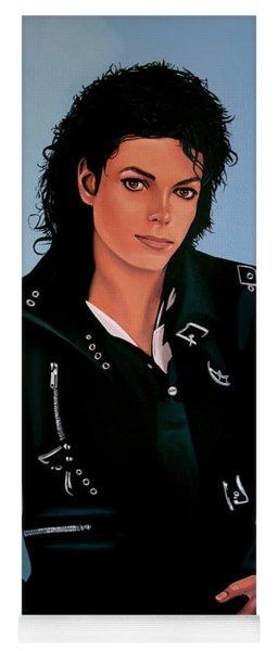 Michael Jackson Bad Yoga Mat