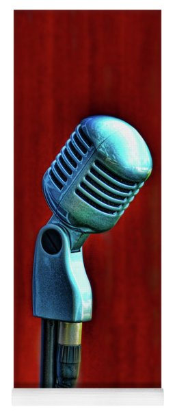 Microphone Yoga Mat