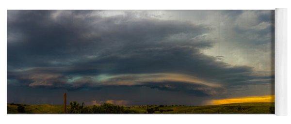 Mid July Nebraska Thunderstorms 020 Yoga Mat