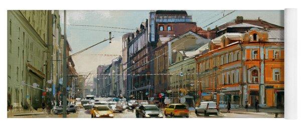Midday. Tver Stream. Tverskaya Zastava Square. Yoga Mat