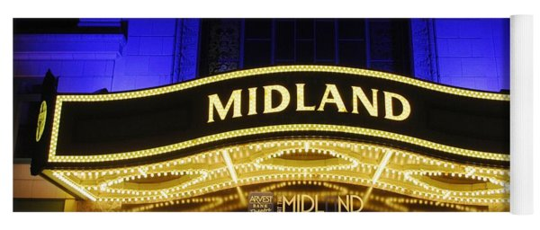 Midland Theater Yoga Mat