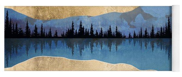 Midnight Lake Yoga Mat