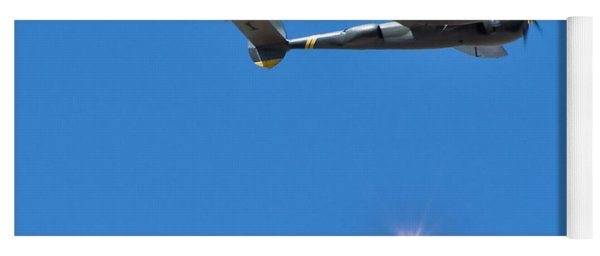 Military Airplanes Flyover Yoga Mat