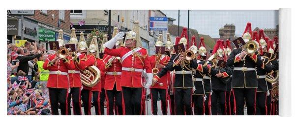 Military Marching Band Dorking Surrey Uk Yoga Mat