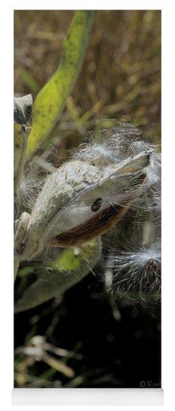 Milkweed Seeds Taking Flight #2 Yoga Mat