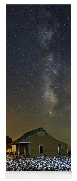 Milky Way And Cotton Yoga Mat