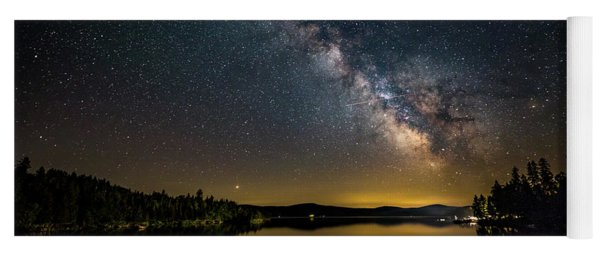 Milky Way At Hunter Cover Yoga Mat