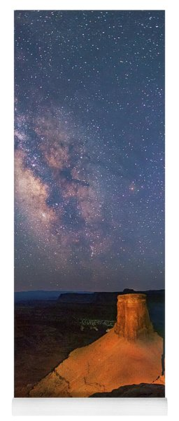 Milky Way At Marlboro Point Yoga Mat